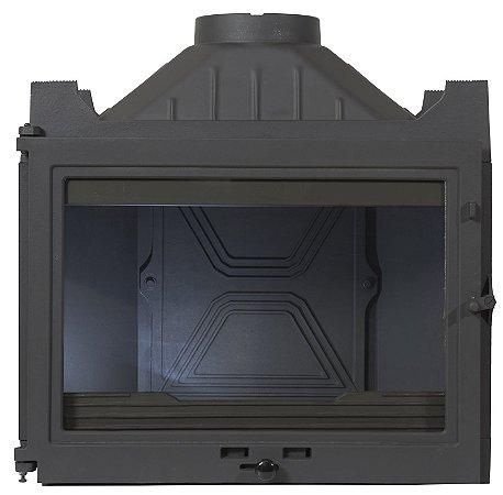 Lareira a Lenha Calefator - Diffusion - A1 em ferro fundido/Made in France.
