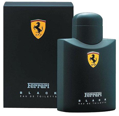 Perfume Ferrari Black  125ml - EDT