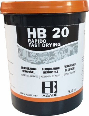 HB 20   Bloqueador Base Água ou Solvente - 900 ml