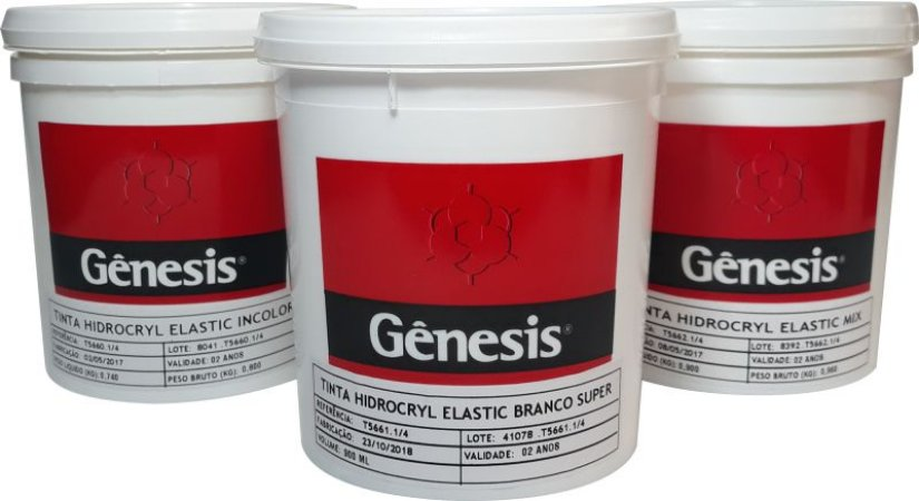 Tinta Hidrocryl Elastic - Cores