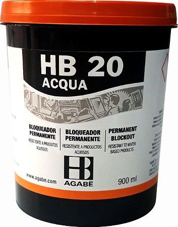 HB 20 -  BLOQUEADOR BASE D'ÁGUA AGABÊ 900 ml