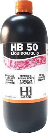 Hb 50 Líquido - Removedor de Emulsão Agabê 900 ml