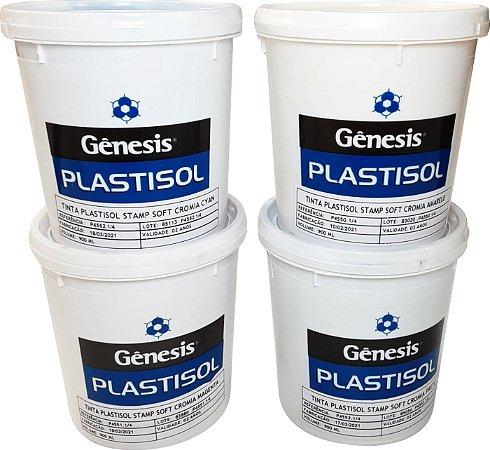 Tinta Plastisol  Cromia - Gênesis - Cores - 900 ml