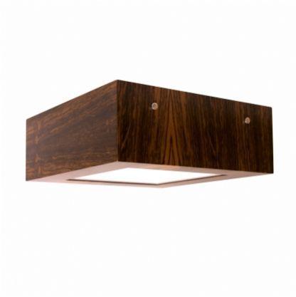 Plafon Quadrado Frame Madeira 12x30x30 Accord 502