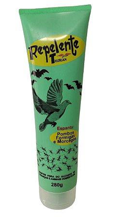 Repelente Thursan espanta Pombos, Formigas e Morcegos 280g Nova Embalagem Bisnaga Flex