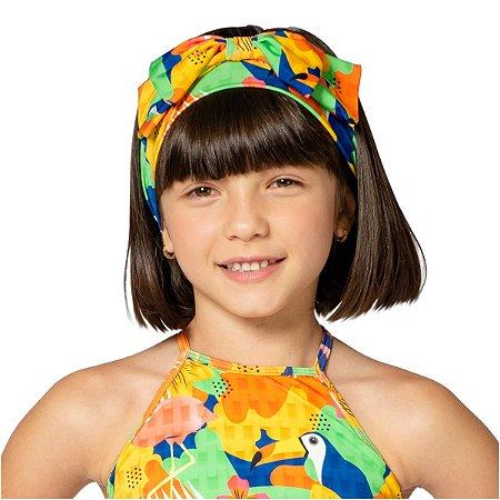 Turbante Infantil Tropical