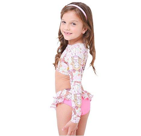 Biquíni Infantil Cropped Karime Marias