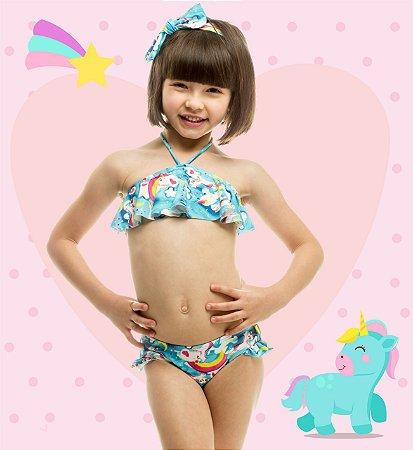 8e52ba456fe9b Magah Biquíni Infantil MafeUnicórnio - Loja Magah Beachwear - Moda ...