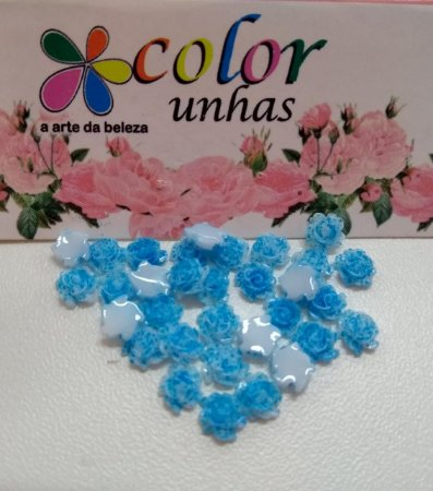 Pcte Rosa 3D azul 32un