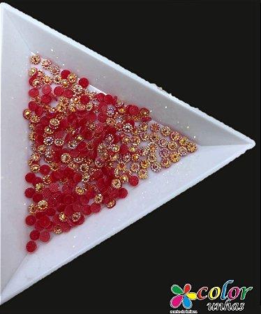 Margarida vermelha - 3MM