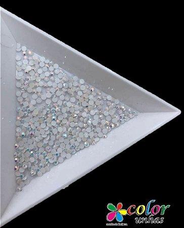 Strass 1.8 MM - Branco Pérolado
