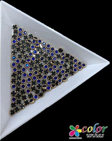 Olho de Gato 3 MM - Azul
