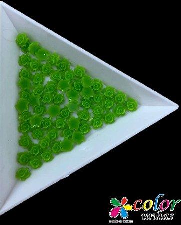 Rosa 3D - Verde