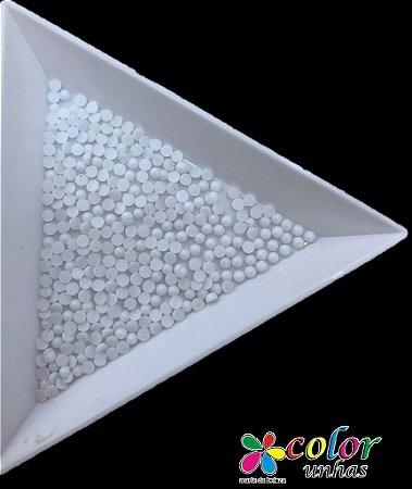 Meia-Pérola 1.5 MM - BRANCO NUDE
