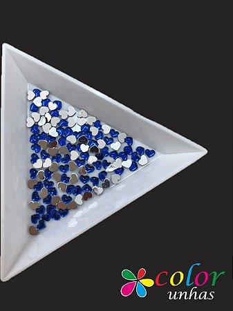 Coração Acrílico 3 MM - Azul