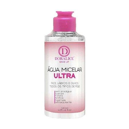 Água Micelar Ultra 120ml Doralice Makeup