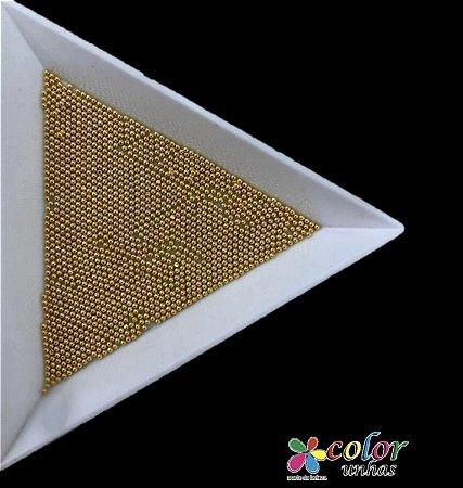Caviar Metal 1MM - Dourado 25g