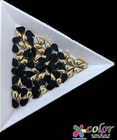 Gota 4,6MM - Dourada 24 Unidades