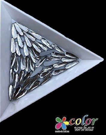 Gota Palito 3,10MM - Cristal 30 Unidades