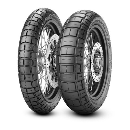 Par Pneus Pirelli Scorpion Rally Str 120/70-17+160/60-15