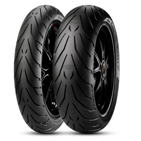 Par Pneus Pirelli Angel GT 110/80-18+180/55-17