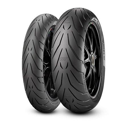 Par Pneus Pirelli Angel GT 110/80-19+150/70-17