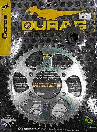 Kit Coroa/Pinhão Durag Z750 2004-2011