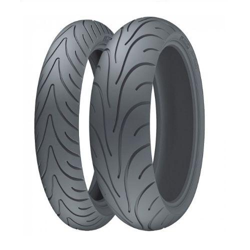 Combo/Par Pneus Michelin Pilot Road 2 120/70-17+180/55-17