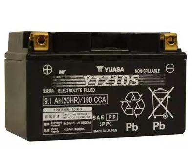 Bateria Yuasa Ytz10S CBR600F CBR1000 Shadow600 R6 R1