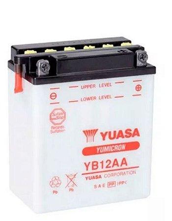 Bateria Yuasa Yb12A-A CB400 CB450 CBR450 Agrale Virago535