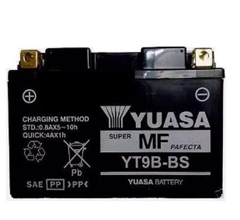 Bateria Yuasa Yt9B-Bs XT660R YZF-R6 MT03