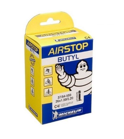 Câmara De Ar Michelin 14MI Aro 14 Traseiro Biz100 Biz125