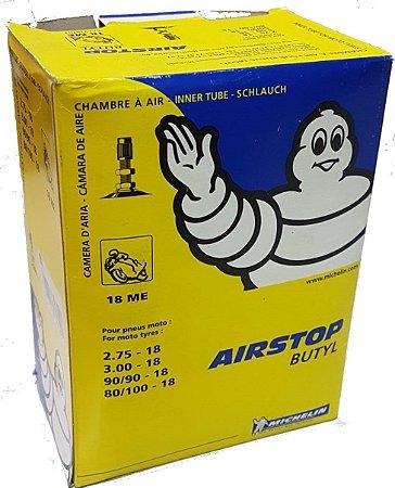 Câmara De Ar Michelin 18ME Dianteira/Traseira CG125 CG150 CG160 YBR125 Factor