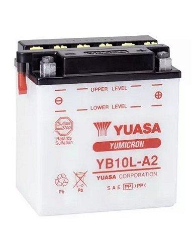 Bateria Yuasa Yb10L-A2 12Ah Intruder250 Virago250 GS500