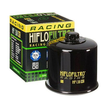 Filtro De Oleo Hiflofiltro HF138RC Racing Bandit VStrom SRad Hayabusa