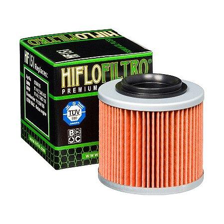 Filtro De Oleo Hiflofiltro HF151 BMW F650Gs G650Gs Aprilia