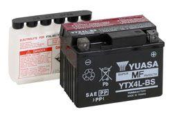 Bateria Yuasa Ytx4L-Bs Titan125Ks Bros125Ks Biz100
