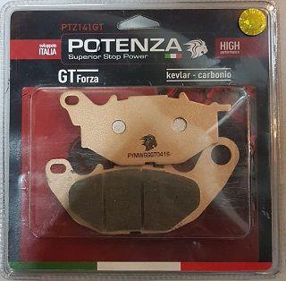 Pastilha de Freio Potenza PTZ141 GT Metálica GG