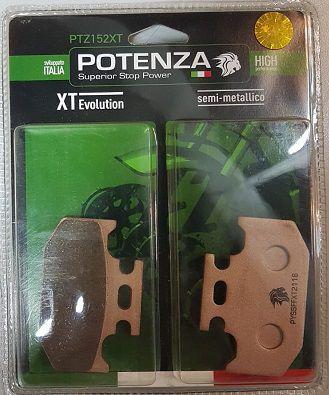 Pastilha de Freio Potenza PTZ152 XT Semi-Metálica GG
