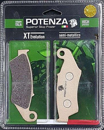 Pastilha de Freio Potenza PTZ185 XT Semi-Metálica GG