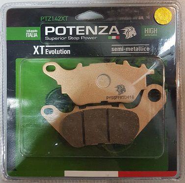 Pastilha de Freio Potenza PTZ142 XT Semi-Metálica GG