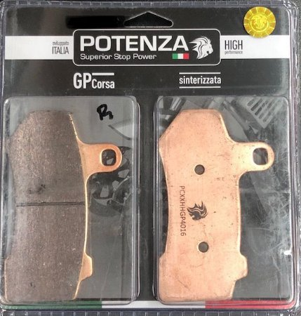 Pastilha de Freio Potenza PTZ501 GP Sinterizada HH