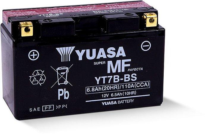 BATERIA YUASA YT7B-BS 12V 6,5AH