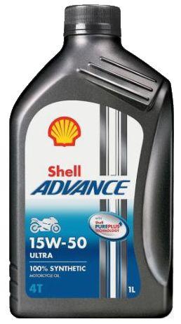 Óleo Shell Advance Ultra 15w50 Sintético Ducati