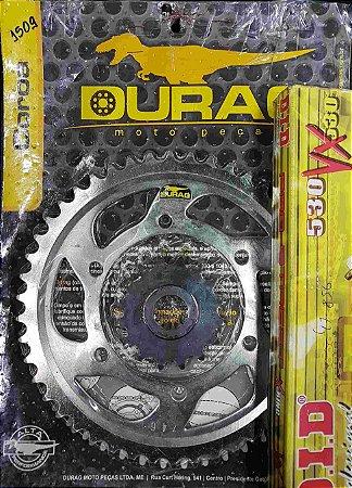 Kit Completo Transmissão Durag DID FZ6 Fazer 2004-2008