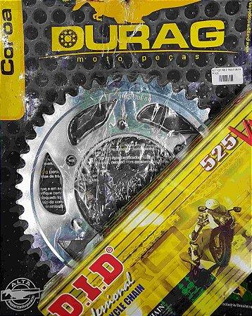 Kit Completo Transmissão Durag DID YZF R6 2006-2009