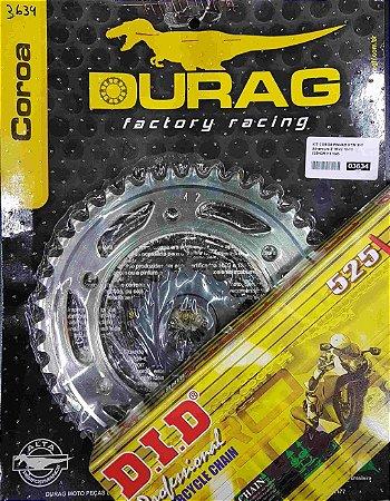 Kit Completo Transmissão Durag DID KTM990 Adventure 2010-2013