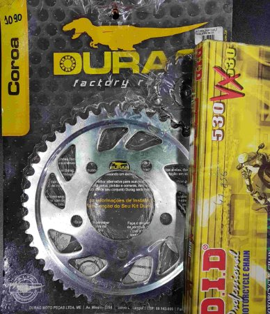 Kit Completo Transmissão Durag DID CBX750F 1984-2003