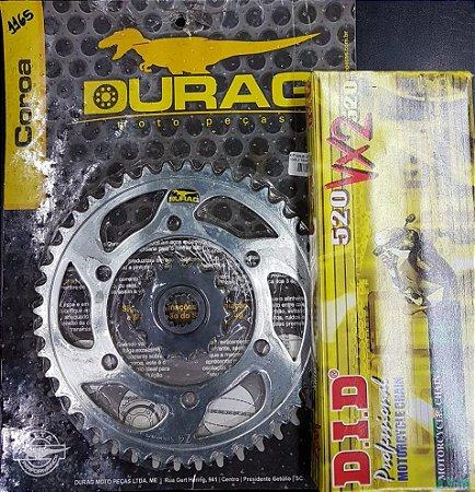 Kit Completo Transmissão Durag DID Ninja 250R 2009