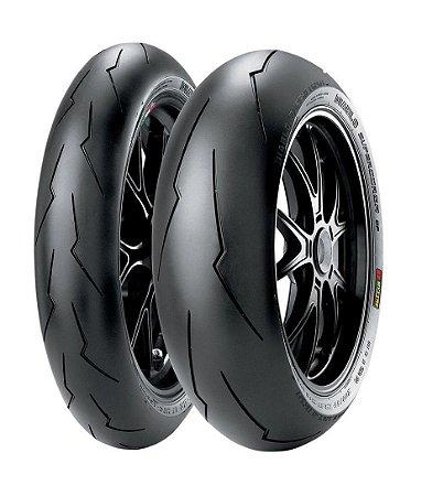 Par Pneus Pirelli Supercorsa Spv2 120/70-17+200/55-17